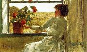 Childe Hassam Summer Evening oil painting reproduction