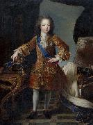 Circle of Pierre Gobert Portrait of King Louis XV of France as child oil on canvas