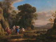 Claude Lorrain The Judgment of Paris oil painting reproduction