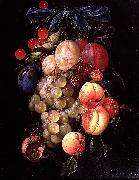 Cornelis de Heem A Garland of Fruit oil on canvas
