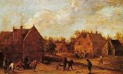 David Teniers the Younger Village scene oil painting reproduction