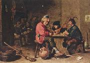 David Teniers the Younger Drei musizierende Bauern oil painting reproduction