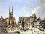 Domenico Quaglio Domenico Quaglio Braunschweig Altstadtmarkt 1834 china oil painting reproduction