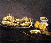 Edouard Manet Oysters painting