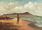 Elizabeth Armstrong Hawaiians at Rest painting
