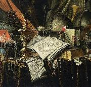 Evert Collier Vanitas Still-Life oil on canvas
