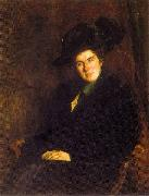 Floris Arntzenius Portrait of Lide Arntzenius-Doorman oil
