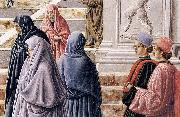 Fra Carnevale The Presentation of the Virgin in the Temple oil on canvas