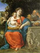 Francesco Albani The Holy Family oil