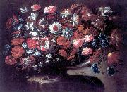 Francisco Lopez Caro , Florero, oleo sobre lienzo, oil on canvas