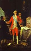 Francisco de Goya 1st Count of Floridablanca oil painting reproduction