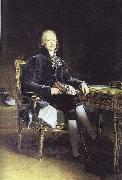 Francois Pascal Simon Gerard Portrait of French stateman Charles Maurice Talleyrand oil painting on canvas
