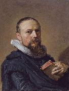 Frans Hals Samuel Ampzing oil painting reproduction
