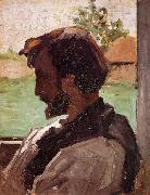 Frederic Bazille Self Portrait at Saint-Sauveur china oil painting reproduction