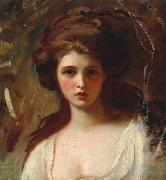 George Romney Lady Hamilton as Circe oil painting reproduction