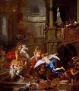 Gerard de Lairesse The Expulsion of Heliodorus From The Temple oil on canvas