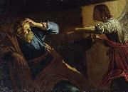 Gerard van Honthorst St Peter Released from Prison. At the Staatliche Museen, Berlin. oil painting