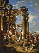 Giovanni Paolo Panini Adoration of the Magi oil painting reproduction