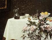 Henri Fantin-Latour Corner of a Table oil painting reproduction