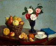 Henri Fantin-Latour Still Life oil painting reproduction