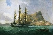 Henry J. Morgan HMS 'Marlborough' painting