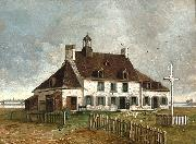 Henry Richard S. Bunnett The Saint-Gabriel Farmhouse oil