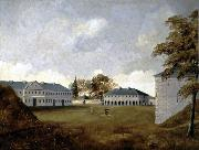 Henry Richard S. Bunnett Fort Lennox oil