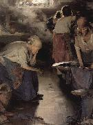 Ilja Jefimowitsch Repin The Washer Women oil