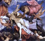 Jacopo Tintoretto Origin of the Milky Way painting