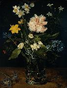 Jan Brueghel Still Life with Flowers in a Glass china oil painting reproduction