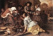 Jan Steen The Effects of Intemperance china oil painting artist
