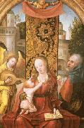 Jan Van Dornicke Madonna and Child oil painting reproduction