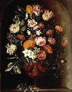 Jan Van Kessel A still life with tulips oil painting reproduction