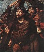 Jan van Hemessen Christ Carrying the Cross oil painting reproduction