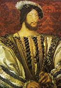Jean Clouet Francis I of France oil painting