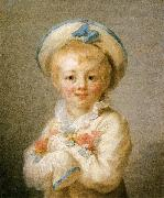 Jean Honore Fragonard A Boy as Pierrot oil painting reproduction