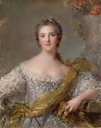 Jean Marc Nattier Madame Victoire of France oil painting reproduction