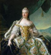 Jean Marc Nattier Dauphine de France oil painting reproduction
