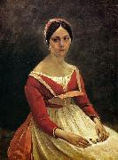 Jean-Baptiste Camille Corot Madame Legois oil on canvas