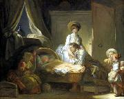 Jean-Honore Fragonard Huile sur toile painting