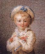 Jean-Honore Fragonard A Boy as Pierrot oil painting reproduction