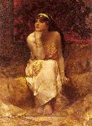 Jean-Joseph Benjamin-Constant Queen Herodiade oil on canvas