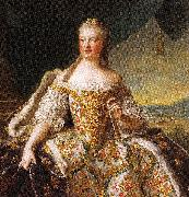 Jjean-Marc nattier Marie-Josephe de Saxe, Dauphine de France (1731-1767), dite autrfois Madame de France oil painting reproduction