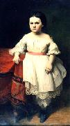 Johann Koler Portrait of the Daughter of Nikolai Petrovitsch Semjonov china oil painting reproduction