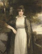 John Hoppner Portrait in oils of Eleanor Agnes Hobart, Countess of Buckinghamshire china oil painting reproduction