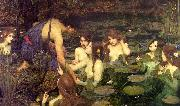 John William Waterhouse Hylas and the Nymphs painting