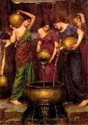 John William Waterhouse Danaides china oil painting reproduction