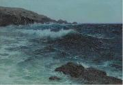 Lionel Walden Hawaiian Coastline, oil painting by Lionel Walden painting