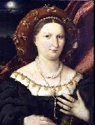 Lorenzo Lotto Portrait of Lucina Brembati oil painting reproduction