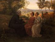 Louis Janmot The weed grain oil on canvas